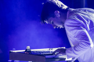 Keyboardist on Stage
